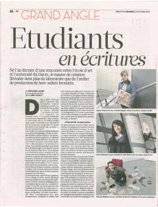 Libération, 06 novembre 2013, page 1